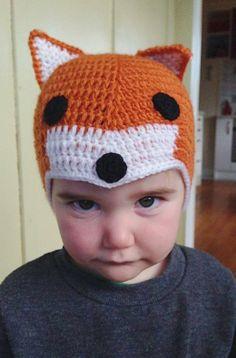 Fox Hat! www.kidlidz.co.nz