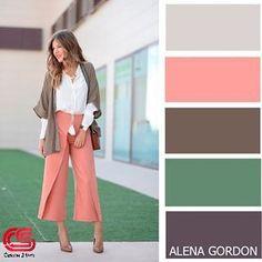 Style hijab color combos Ideas for 2019 Colour Combinations Fashion, Color Combinations For Clothes, Fashion Colours, Colorful Fashion, Colour Pallette, Colour Schemes, Color Combos, Mode Bcbg, Color Balance