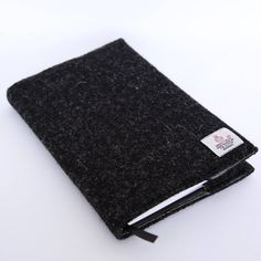 Harris Tweed Notebook Cover & Notebook by CarberryCrafts on Etsy https://www.etsy.com/uk/listing/571451529/harris-tweed-notebook-cover-notebook