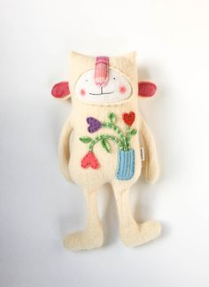 Silly Sweater Creature by sweetpoppycat on Etsy