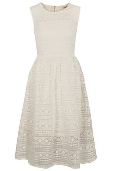white lace midi // wear with burgundy tights & oxford pumps