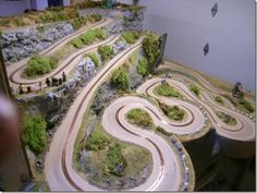 ManicSlots' slot cars and scenery: EVENT: WRP 2014 call for entries Rc Track, Slot Car Race Track, Slot Car Racing, Ho Slot Cars, Slot Car Tracks, Race Cars, Carrera Slot Cars, Scalextric Track, Call For Entry