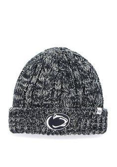 22c0736cbab06  47 Penn State Navy Blue Prima Cuff Knit Hat Happy Valley Penn State