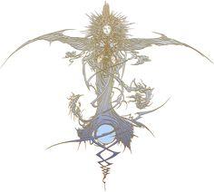 Fabula Nova Crystallis: Final Fantasy logo by eldi13 on deviantART