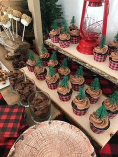 the basic facts of baby shower decorations for boys diy decoration ideas 2 . the basic facts of baby shower decorations for boys diy decoration ideas 2 the basic facts of baby shower decora. Christmas Baby Shower, Baby Shower Winter, Baby Boy Shower, Boy Baby Showers, Boy Baby Shower Themes, Lumberjack Birthday Party, 1st Boy Birthday, Lumberjack Cupcakes, Birthday Ideas