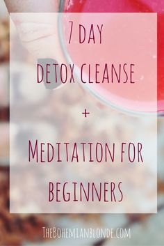 Try the Detox Juice Cleanse paired with Guided Meditation for Beginners.