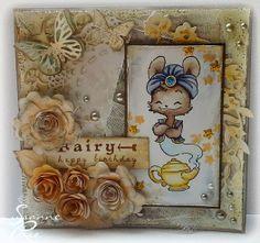 "Clay & Scrap - Kreativ: Eine ""Shabby"" Karte"