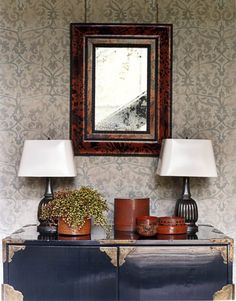 I love this wall paper. I want it.  http://www.housebeautiful.com/decorating/colors/gray-rooms-1110