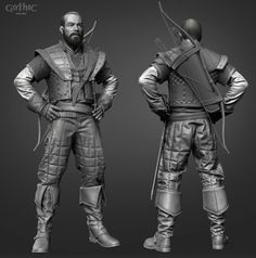 ArtStation - For Gomez! Character Model Sheet, Character Modeling, Character Design, Character Ideas, Fantasy Concept Art, Fantasy Rpg, Gothic Games, D D Characters, Fictional Characters