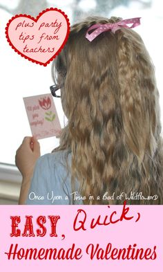 Are you looking for a quick, easy homemade Valentine idea? You can make them with PicMonkey right in your own home! Let Once Upon a Time in a Bed of Wildflowers teach you how!