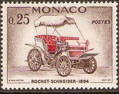 Monaco 1961 25c Rochet-Schneider.