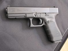 Glock 22. My choice of firearm.