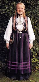 Hello all, Today I will cover the last province of Norway, Hordaland. This is one of the great centers of Norwegian folk costume, hav. Folk Costume, Costumes, Traditional Outfits, Norway, Culture, Embroidery, Jackets, Ideas, Fashion