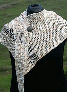 Interrupted Crochet Shawl by Linda Dean