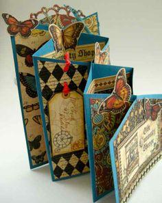 JoZart - zig zag card and template