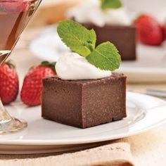 Carrés fudge au chocolat noir et Bailey's - Recettes - Cuisine et nutrition - Pratico Pratique