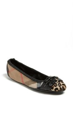Burberry 'Falconette' Flat. I think I might have found my fall splurge.