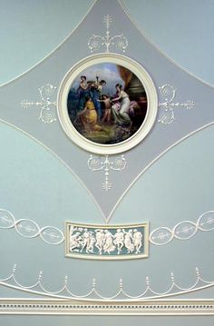 Ceiling painted by Antonio Zucchi