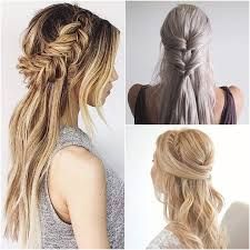 114 Best Half Up Half Down With Braids Images Easy Hair Hairstyle