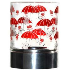 Moomin candleholders are multifunctional design pieces that can bring joy to any home. This one has Little My hanging on to her red umbrellas on it. Moomin Shop, Red Umbrella, Little My, Tea Light Holder, Tea Lights, Home Goods, Candle Holders, Just For You, Candles