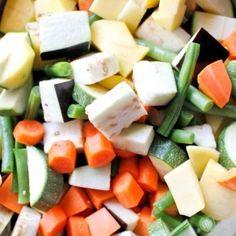 Tempos de Cozedura de Vegetais e Legumes
