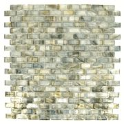 Hotglass Bohemia 1 3 16 X 9 16 Glass Tile In Sargasso Sea 12 7 8 X 12 7 8 Clear Film Faced Sheet Glass Tile Sea Tile Mirrored Subway Tile