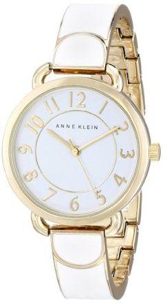 """Anne Klein Women's AK/1606WTGB """"Easy-to-Read"""" Watch Anne Klein http://www.amazon.com/dp/B00I7LNI9Y/ref=cm_sw_r_pi_dp_-7jMub0QYG3GQ"""