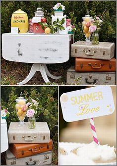 Featured: Strawberry Lemonade Bohemian Wedding Inspiration on Wedding Chicks!