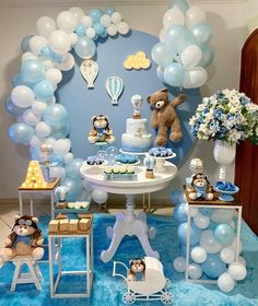 34 Creative Baby Shower Themes For Your Baby 2020 - Page 13 of 34 - coloredbikinis. Baby Shower Decorations For Boys, Boy Baby Shower Themes, Baby Shower Balloons, Baby Shower Gender Reveal, Fiesta Baby Shower, Baby Shower Fun, Baby Shower Cakes, Baby Shower Parties, Baby Showers