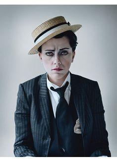 Scarlett Johansson as Buster Keaton