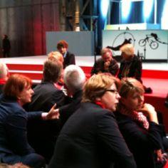 Britta Altenkamp in Bochum - Jahrhunderthalle  Am 13. Mai Zwei Stimmen für die SPD