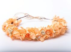 Floral crown.