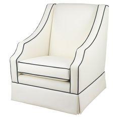 Oilo Furniture Cohen Glider #nursery #nurseryglider #chair @Sarah Nasafi Grayce