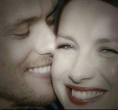 Jamie and Claire ❤❤❤