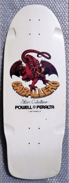 DECK OF THE DAY | POWELL & PERALTA | STEVE CABALLERO | ART BY VCJ