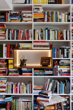 Do you have some boring white bookcases in your home that aren't really doing anything for ya? ...