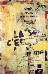"""Jacques Villegle  """"Impasse de la Planchette""""  1976"""