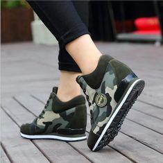 12 Best hidden heel wedge platform shoes images Plate-forme  Platform