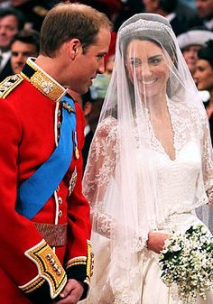 I always had the perfect wedding Dress in my mind... Then Kate Middleton wore it when she married the prince...