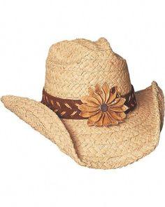 Bullhide Sunset Braided Raffia Straw Cowgirl Hat 4f66bc123be4