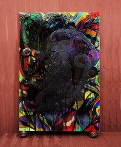 Chris Ofili Mono Negro,1999–2002
