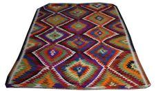 Anatolian Kilim Rug Embroidered Rug Handwoven by AreaRugsKilims