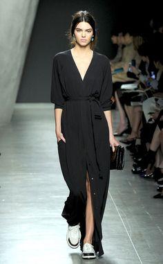 ate that.                                                                   Kendall Jenner, Bottega Veneta, Milan Fashion Week