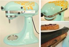 Dress Up Your Stand Mixer - 20 of the Most Adorable DIY Kitchen Projects You've Ever Seen