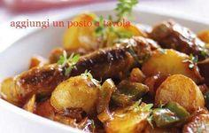 Salsicia e patate