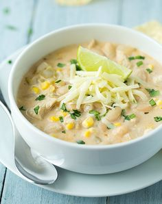 Cool White Chicken Chili