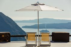 Jaw Dropping Views Of The Mediterranean From The Aenaon Villas In Santorini, Greece | Yatzer