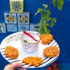 Frittelle greche di pomodoro e feta
