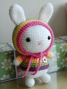 Mesmerizing Crochet an Amigurumi Rabbit Ideas. Lovely Crochet an Amigurumi Rabbit Ideas. Crochet Bunny, Love Crochet, Crochet Animals, Crochet For Kids, Crochet Dolls, Crochet Yarn, Amigurumi Patterns, Amigurumi Doll, Crochet Patterns