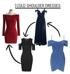 """""""shoulder dresses"""" by ebsavannah on Polyvore featuring Chicwish, Topshop, women's clothing, women, female, woman, misses and juniors"""